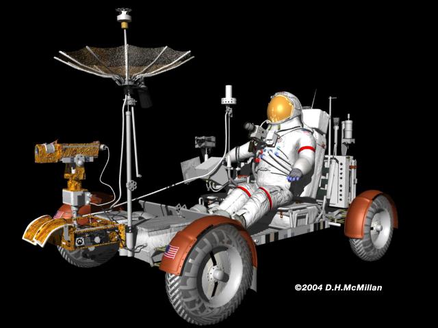 nasa apollo lunar rover - photo #28